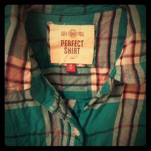 SO plaid shirt
